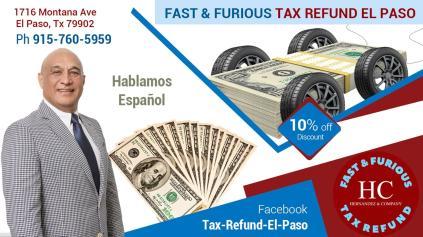 Fast & Furious TAX REFUND EL PASO