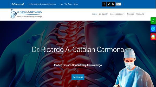 Dr Ricardo Catalán Carmona