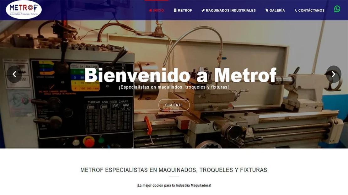 Metrof Maquinados Industriales